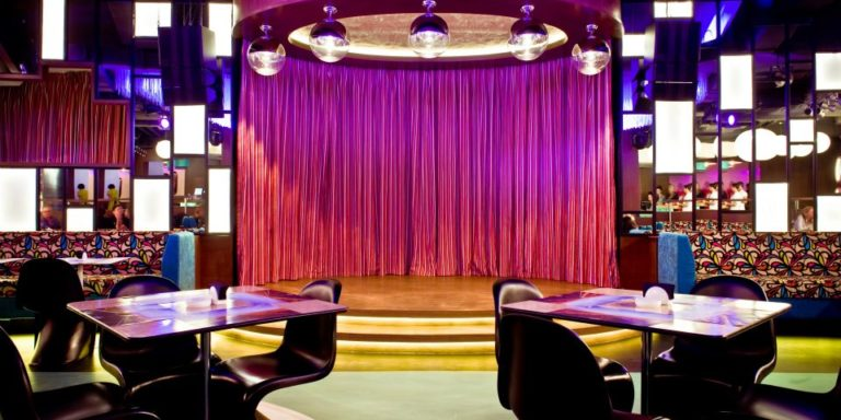 Pink Cadillac Restaurant & Nightclub - Moscow, Russia - DavisInkLTD.com