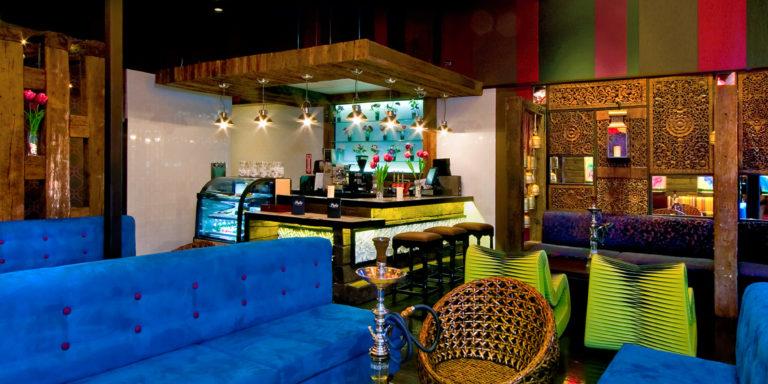Pasha Hookah Lounge - Interior Design - DavisInkLTD.com