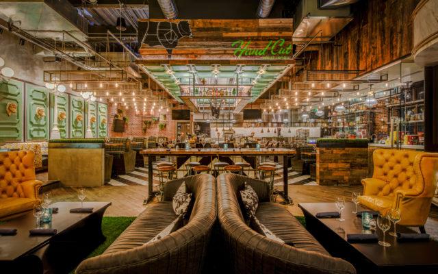 Hand Cut - DavisInk.com - Restaurant and Bar Design